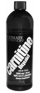 Ultimate Nutrition Liquid L-Carnitine 355 ml