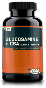 Glucosamine + CSA Super Strength 60 таб
