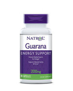 Natrol Guarana 200 мг., 90 капс, Энергетики