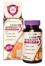 Natrol Carb Intercept with Green Tea (60 капс.)