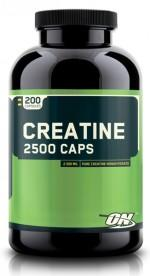 Optimum Nutrition Creatine 2500 Caps, 200 капс, Моногидрат креатина