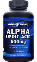 Alpha Lipoic Acid 600 мг 180 капс