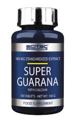 Scitec Nutrition Guarana, 100 таб, Энергетики