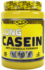 Steel Power Nutrition Long CASEIN, 900 г, Казеиновый протеин