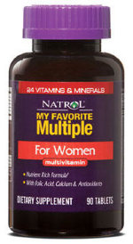 Natrol Multiple for WomenOne a Day (90 табл)