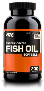 Optimum Nutrition Enteric Coated Fish Oil Softgels, 200 капс, Омега жиры