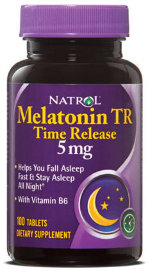 Natrol Melatonin 5 mg (100 табл.)