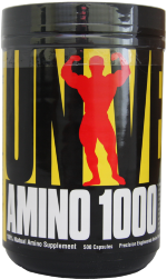 Universal Nutrition Amino 1000 500 капс