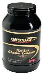 PERFORMANCE Turbo Mass Gainer 3000g, strawberry