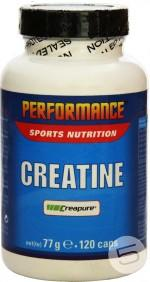 Performance Creatine, 120 капс, Моногидрат креатина