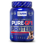 USN Pure-GF1 Protein 4 Stage Low Carb, 1000 г, Комплексный протеин