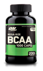 Optimum Nutrition BCAA 1000 Caps, 200 капс, Аминокислоты BCAA