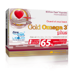 OLIMP Gold Omega 3 Plus 65%, 60 капс, Омега жиры