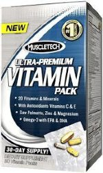 MuscleTech 100 Ultra-Premium Vitamin 30 пак