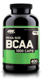 Optimum Nutrition BCAA 1000 Caps, 400 капс, Аминокислоты BCAA