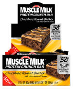 Muscle Milk Protein Crunch Bar  12 шт
