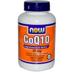 NOW CoQ10 30 mg, 120 капс, Коэнзим Q10