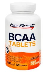 Be First BCAA Tablets, 120 таб, Аминокислоты BCAA