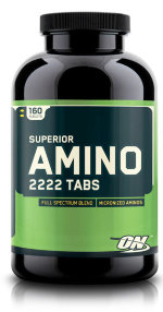 Optimum Nutrition Superior Amino 2222 160 таб