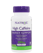Natrol High Caffeine 200 мг, 100 таб, Энергетики