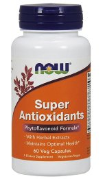 NOW SUPER ANTIOXIDANTS, 60 капс, Антиоксиданты