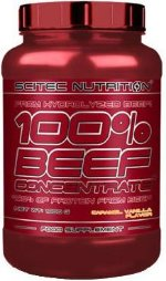 Scitec Nutrition 100% Beef Concentrate, 1000 г, Говяжий протеин