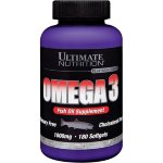 Ultimate Nutrition Omega 3, 180 капс, Омега жиры