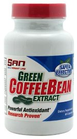 SAN Green Coffee Bean, 60 капс, Энергетики