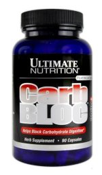 Ultimate Nutrition Carb Bloc 90 кап