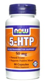 NOW 5-HTP 50 mg, 90 капс, 5-HTP