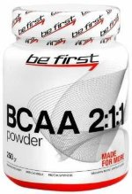 Be First BCAA 2:1:1 POWDER, 250 г, Аминокислоты BCAA