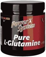 Power System L-glutamine, 400 г, Аминокислота Глютамин
