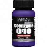 Ultimate Nutrition Coenzyme Q-10 100 mg, 30 капс, Коэнзим Q10