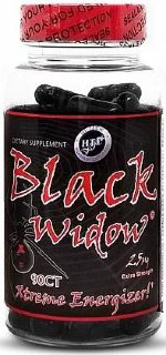 Hi-Tech Pharmaceuticals Black Widow, 90 капс, Жиросжигатели