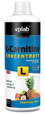 VP Laboratory L-Carnitine concentrate, 1000 мл, L-carnitine