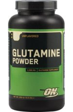 Optimum Nutrition Glutamine powder, 300 г, Аминокислота Глютамин
