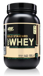 Optimum Nutrition 100% Whey Gold Standard Natural, 910 г, Сывороточный протеин