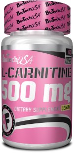 L - Carnitine 500 mg Chewing Tablet 60 tabs