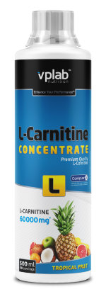 VP Laboratory L-Carnitine Concentrate, 500 мл, L-carnitine