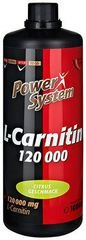 Power System L-Carnitin Fire 120000 mg, 1000 мл, L-carnitine