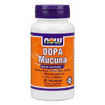 NOW DOPA Mucuna vcaps 90 капс