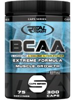 Real Pharm BCAA, 300 капс, Аминокислоты BCAA