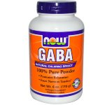 NOW GABA Pure Powder, 170 г, GABA