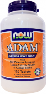 NOW ADAM Men's Multivitamin 120 tabs