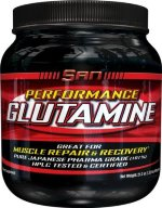 SAN Performance Glutamine, 600 г, Аминокислота Глютамин