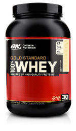 Optimum Nutrition 100% Whey Gold Standard  907 г