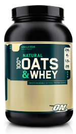 Optimum nutrition 100 Natural Oats & Whey 1350 г