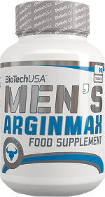 BioTech USA Men`s Arginmax, Аминокислота Аргинин