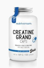 Nutriversum BASIC Creatine Grand Caps, 120 капс, Моногидрат креатина