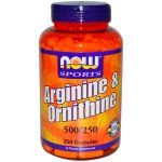 Arginine&Ornithine 500/250 250 caps*